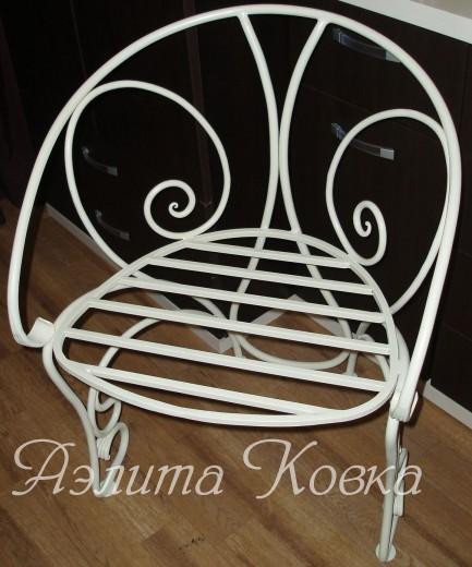 Кресло кованое