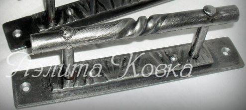 Дверная кованая ручка