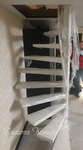 Лестница-наклонно винтовая
