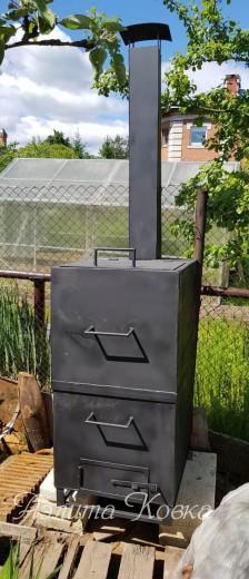 Печь для сжигания мусора