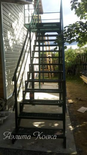 Лестница уличная ступени ПВЛ