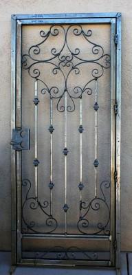 Решетчатые двери-перегародки